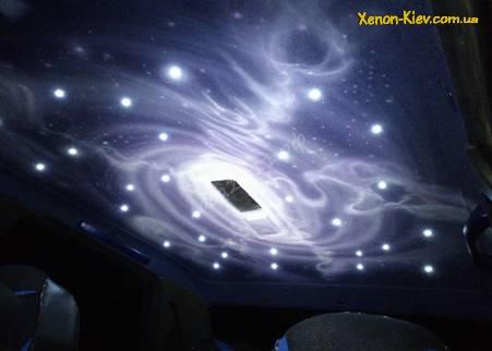 Потолок в светодиодах на Ваз, или Звездное небо в авто