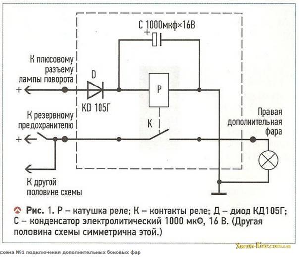 схема на картинке 1.