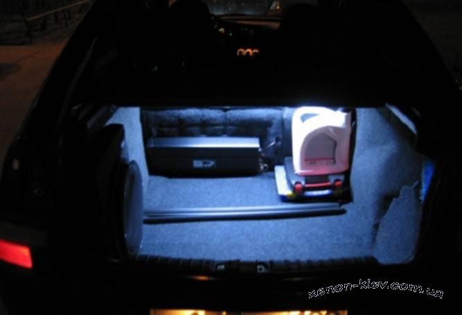 Своими руками освещение в багажнике фото 173