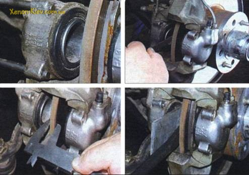 Как и когда заменить передние тормозные колодки?