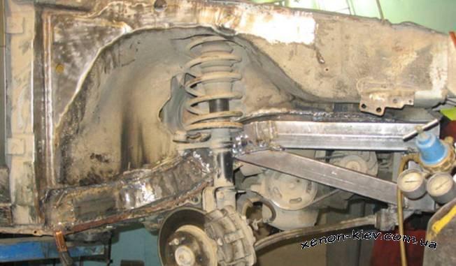 Усилить кузов газели своими руками фото 914