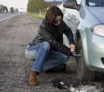 Как заменить колесо авто