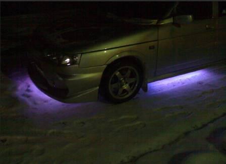 Подсветка днища ВАЗ