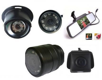 Выбираем камеру заднего вида