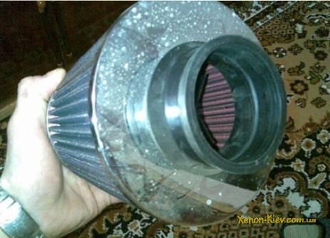 Промывание фильтра нулевого сопротивления в ВАЗ 2112